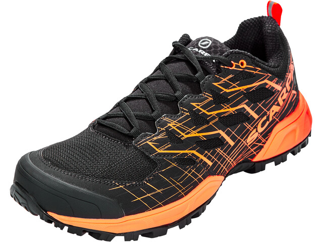 Scarpa Neutron 2 Schoenen Heren, black/orange